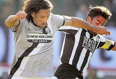 Amauri, probabile titolare in Juventus-Lecce (Foto Ansa)
