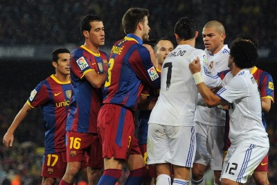 Real Madrid-Barcellona (foto Ansa)