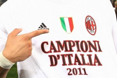 Milan campione d'Italia 2010/2011 (foto Ansa)