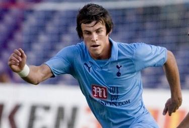 Gareth Bale, terzino Tottenham (Foto Ansa)