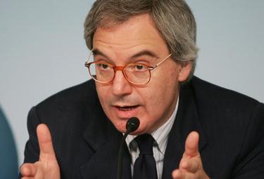 Maurizio Beretta presidente della Lega di Serie A (Foto Ansa)