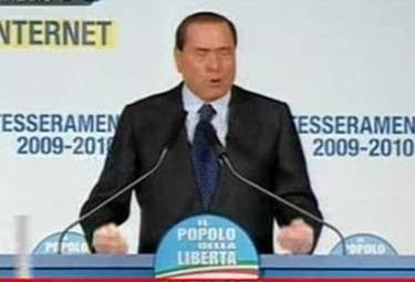 Silvio Berlusconi, foto Ansa