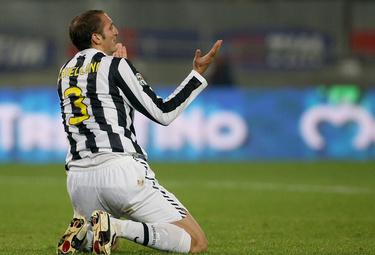 Giorgio Chiellini, difensore Juventus (Foto Ansa)
