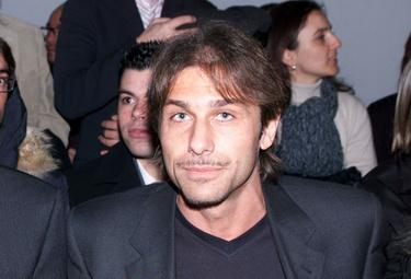 Antonio Conte tecnico del Siena (Foto Ansa)