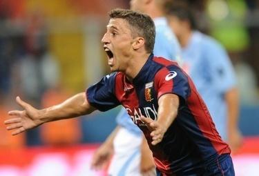 Hernan Crespo, attaccante del Parma (Foto Ansa)