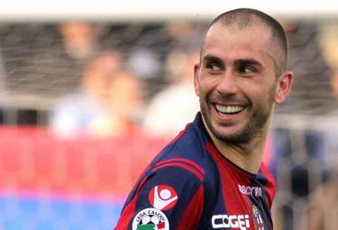 Marco Di Vaio, attaccante Bologna (Foto Ansa)