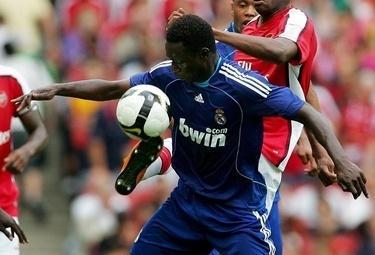Diarra centrocampista del Real (Foto Ansa)