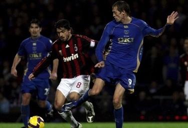 Gennaro Gattuso, centrocampista Milan (Foto Ansa)