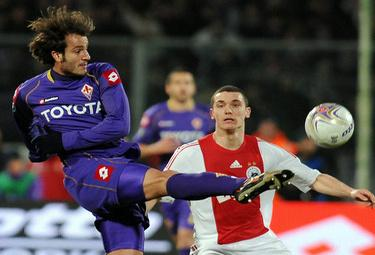 Alberto Gilardino, attaccante Fiorentina (Foto Ansa)