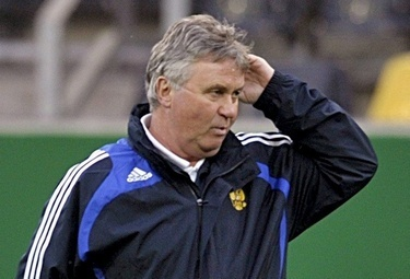 Guus Hiddink, foto Ansa