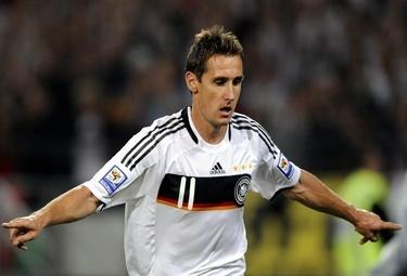 Klose attaccante del Bayern (Foto Ansa)
