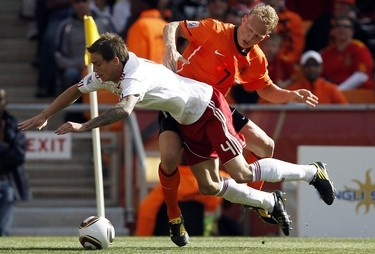 Dirk Kuyt, attaccante Liverpool (Foto Ansa)