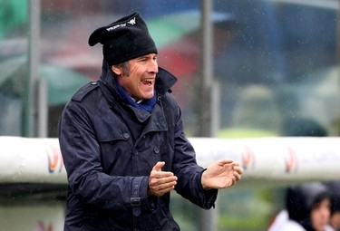 Alberto Malesani, allenatore Bologna (Foto Ansa)