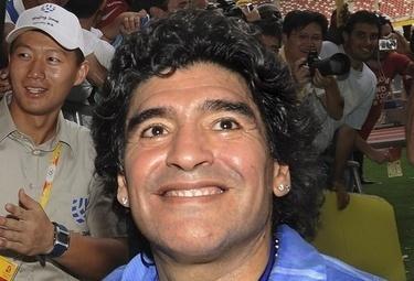 Maradona, foto Ansa