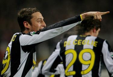 Marchisio centrocampista bianconero (Foto Ansa)