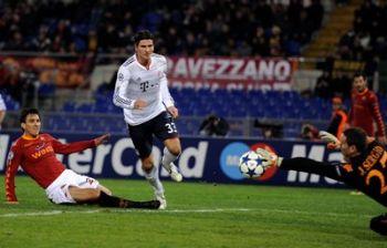 Mario Gomez attaccante del Bayern (Foto Ansa)