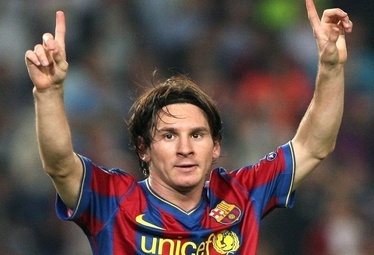 Messi bomber del Barca (Foto Ansa)