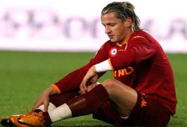 Philippe Mexes difensore della Roma (Foto Ansa)