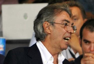 Massimo Moratti, presidente Inter (Foto Ansa)