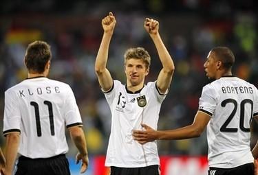 Muller suo il primo gol (Foto Ansa)