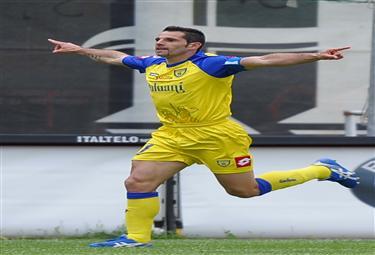 Sergio Pellissier, attaccante Chievo (Foto Ansa)