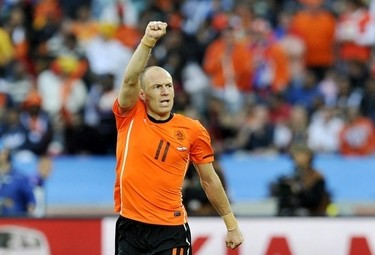 Arjen Robben, esterno Bayern Monaco (Foto Ansa)