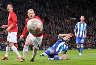 Rooney un gol spettacolare il suo (Foto Ansa)