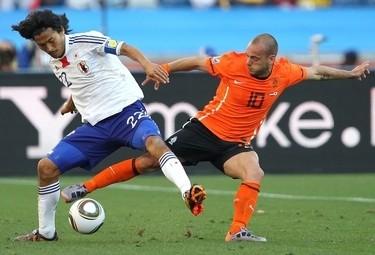 Sneijder rimarrà a lungo nerazzurro (Foto Ansa)