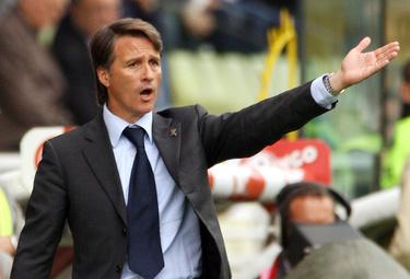 Tesser allenatore del Novara (Foto Ansa)