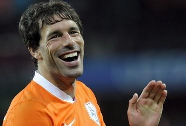 Ruud Van Nistelrooy, foto Ansa