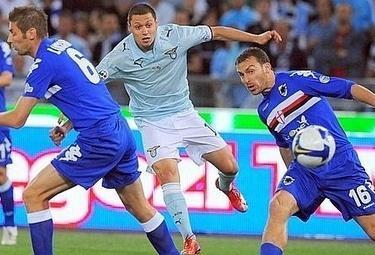 Mauro Zarate, attaccante Lazio (Foto Ansa)