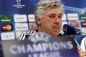 Ancelotti: il suo Chelsea è primo a punteggio pieno (Foto Ansa)