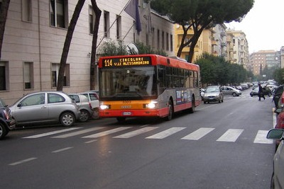 autobus a Roma