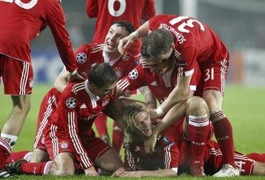 Bayern Monaco in festa (Foto: Ansa)