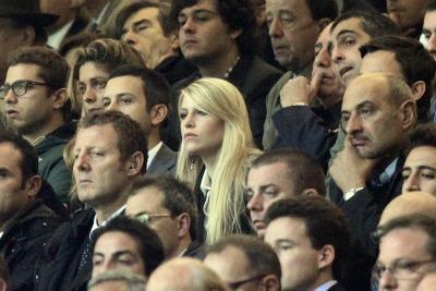 Barbara Berlusconi allo stadio (Foto Ansa)