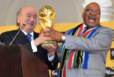 Blatter presidente della Fifa (Foto Ansa)