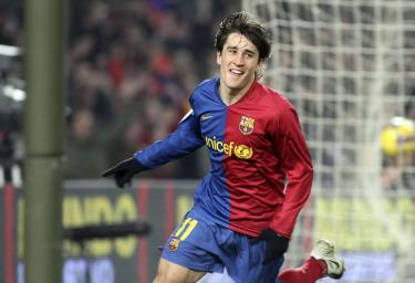 Bojan Krkic, attaccante Barcellona (Foto Ansa)