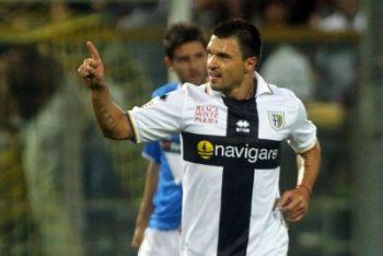 Boijnov attaccante Parma (Foto Ansa)
