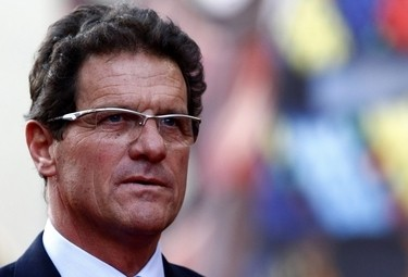 Fabio Capello, ct dell'Inghilterra