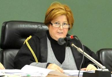 Il giudice Teresa Casoria (Foto Ansa)
