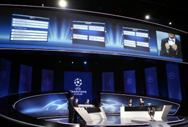 Oggi i sorteggi di Champions League