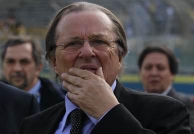 Gino Corioni patron del Brescia (Foto Ansa)