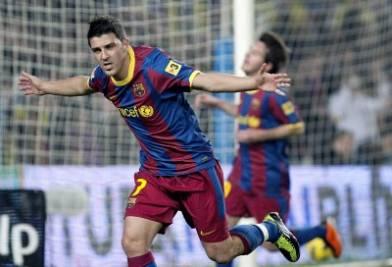 David Villa, uno degli ultimi arrivati in casa Barcellona