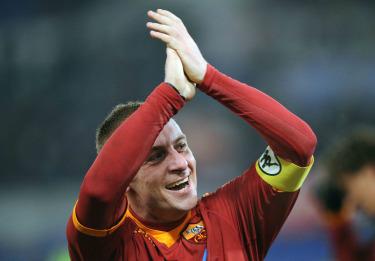 Daniele De Rossi, centrocampista Roma (Foto Ansa)