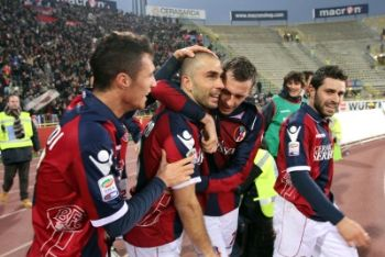 Di Vaio capitano del Bologna (Foto Ansa)