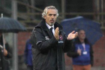 Donadoni tecnico del Cagliari (Foto Ansa)