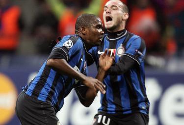 Samuel Eto'o, attaccante Inter (Foto Ansa)