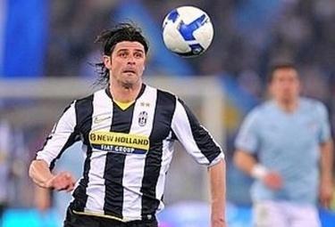 Vincenzo Iaquinta, attaccante Juventus (Foto Ansa)