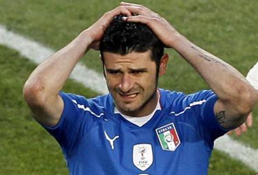 Vincenzo Iaquinta, attaccante Juve (Foto Ansa)