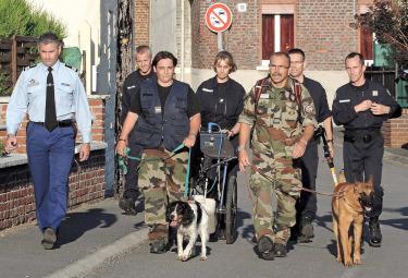 Le indagini della polizia francese